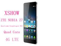 Original New ZTE Nubia Z7 mine z7 max  4G LTE Mobile Phone Qualcomm Snapdragon 801MSM8974AC Quad Core 2.5GHz 3GB 32GB 13MP