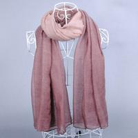 Top quality new women's printe cotton voile shawls pure color plain muslim viscose head hijab wrap scarf/scarves 5pcs/lot