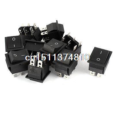 Кулисный переключатель AC 250 16 125V 20A DPDT 6Pins 10 кулисный переключатель switch dpdt 6 15a 250 ac 20 125v