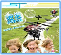 New Arrival Special Kids Toys WLToys V757 3.5CH Bubble Gyro Helicopter Christmas Toy Gift  for children Free  battery helikopter