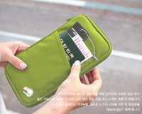 Easy Travel carry multi-purpose day clutch bag storage bank card bag wallet purse Free Shipping