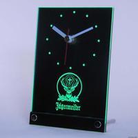 tnc0572 Jagermeister 3D LED Table Desk Clock