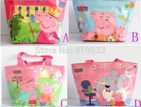 free shipping Factory direct 1PCS/LOT peppa pig  Children Single shoulder bag, shopping bags Waterproof,. best gift