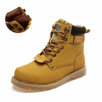 Men's Boots British Style Size 36-46 Genuine Leather New Fashion Martin Men Outdoor Shoes And Men's Autumn Winter Hiking Boot