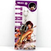 free shipping japan anime  Shingeki no Kyojin keychain keyring phone strap (10pcs lot) b2619