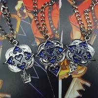 free shipping japan anime Kingdom Hearts cosplay necklace set (10set a lot)b2627