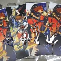 free shipping japan anime Kingdom Hearts cosplay necklace set (10set a lot)b2628
