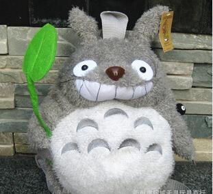 Lovely Plush large plush toy My Neighbor Totoro Smiling Totoro backpack(China (Mainland))