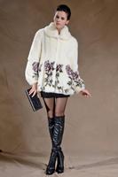Fur Coats Long Limited Women Direct Selling 2014 Women's High Quality Imitation Mink Fashion Overcoat Plus Size Outerwear Coat