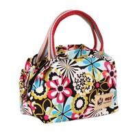2014 vintage casual flower canvas sweet handbag mini bag