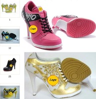 women's  high heel shoes,high heel sneakers,new styles,free shipping,size 36 to 42, women's sneakers.