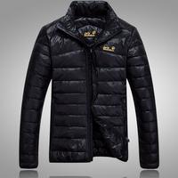 2014 M/L/XL/XXL  New male down coat 90% Men Duck  DOWN+10% Duck feather Jacket outwear men's down parkas warm jacket