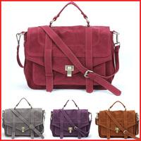 2014 New Vintage Nubuck PU Leather Women Handbags,Luxury Brand Tote bag ,Shoulder Messenger Bag Promotion