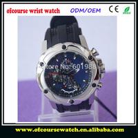 1pcs Free Shipping  F16526 New Designer Elegant Brand Mens Watches Calendar Tour-Chrono Wholesale Rubble Sport Watch With Box