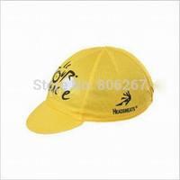 1x New Cycling CAP Le Tour De France clothing Hood Bike Riding Sportsweart Headgear Hot sale hat cool Sportswear Yellow