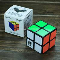 New Yongjun MoYu Black Lingpo 2x2 Magic Cube 2x2x2 Speed Magic Cube 5.3cm LINGPO Twist Puzzle Educational Toy Children Gift Toys