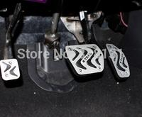 2014 Car Accelerator/Gas/Brake/Clutch/Antiskid Aluminium Alloy Pedal For X-TRAIL XTRAIL  Interior Pedal Car Styling