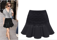 2014 LOOKBOOK recommended, Top grade! vintage style,lady  Lace Skirt