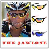 2014 NEW 3 Lens Brand OK Bicycle Jawbone Cycling Eyewear Glasses Sport Sunglasses UV400 men's Sporting Sun Glasses Goggles