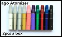 2014 new arrival AGO Dry Herb Vaporizer Electronic Cigarette Clearomizer ago g5 e-cigarette Atomizer 2 pcs a box