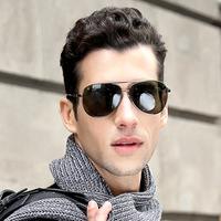 Male polarized sun glasses sports driving mirror large sunglasses 1123