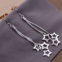 Free shipping, Fashion earrings, Fashion jewelry, 925 silver sterling earrings, high quality factory price, LE161