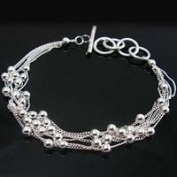 Wholesale silver Bracelet, silver jewelry Bracelet / silver Bracelet free shipping LKB161