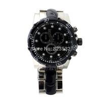 Business brand army MEN silver stainless steel luxury sport casual military quartz watch,oversize calendar wristwatch MALE CLOCK