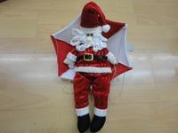 Christmas Ceiling Decoration 54cm Hanging Parachute Xmas Man Santa claus