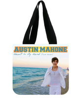 Only Custom Austin Mahone Tote Bag 100% Cotton Canvas Simple and Fun!