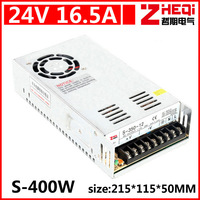 400W 24V 17A Single Output Switching power supply for CCTV camera LED Strip light AC to DC SMPS