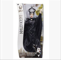 With Original Box,Free Shipping 2014 New Arrival 29cm Dark Beauty Maleficent Doll New Toy for Children