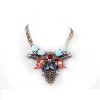 fashion necklaces for women 2014 Grape shaped statement necklace pendants ,NL-2158