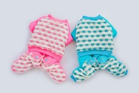 Dog Winter Suit 2014 New Metres Time Cotton-Padded Clothes  Four Legs Dog Clothes Pink Blue