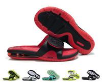 Free shipping new 2014 Air Lebron Slide men's Sandals hot men Flip Flops