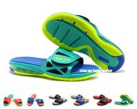 Free shipping new 2014 Cheap Air Lebron Slide men's Sandals hot lebron Kings men Flip Flops size 7-11