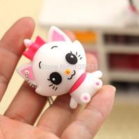 Novelty Cute Fashion Cat USB Flash 4GB 8GB 16GB 32GB 64GB Pen Drive U Disk Memory Stick Rubber