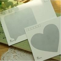 50pcs 78*55mm heart scratch card stickers oval message box shape scratch off labels