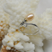Cheap wholesale supply of natural pearl ring