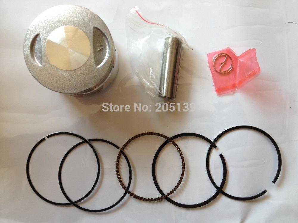 LIFAN LF CG 150CC Engine piston + piston ring KIT motorcycle ATV go/kart dirt PIT bike PARTS(China (Mainland))