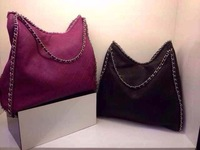 2014  92232 purse  39cm very soft  original leather chain bag  new fashion  wholesale and retail brand  women design handbag