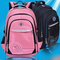 High Quality Waterproof School Bags Double Shoulder School Backpacks For Teenagers Boys And Girls Children Backpack Orthopedic