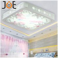 New arrived modern led ceiling lights for living room bedroom Crystal light fixtures lamps home Art Deco lights 110V/220V JD9125