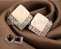 High quality New  stud earrings fashion simple generous Earrings Jewelry Stud Earring