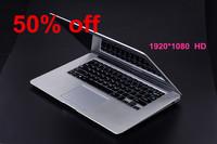 14inch 1920*1080 HD ultrabook laptop computer 4GB ddr3 640GB HDD Intel N2840 2.16Ghz USB 3.0 WIFI camera
