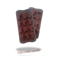 Bakeware Chocolate mould  Sports logo shape silicone  cake molds soap for the kitchen baking