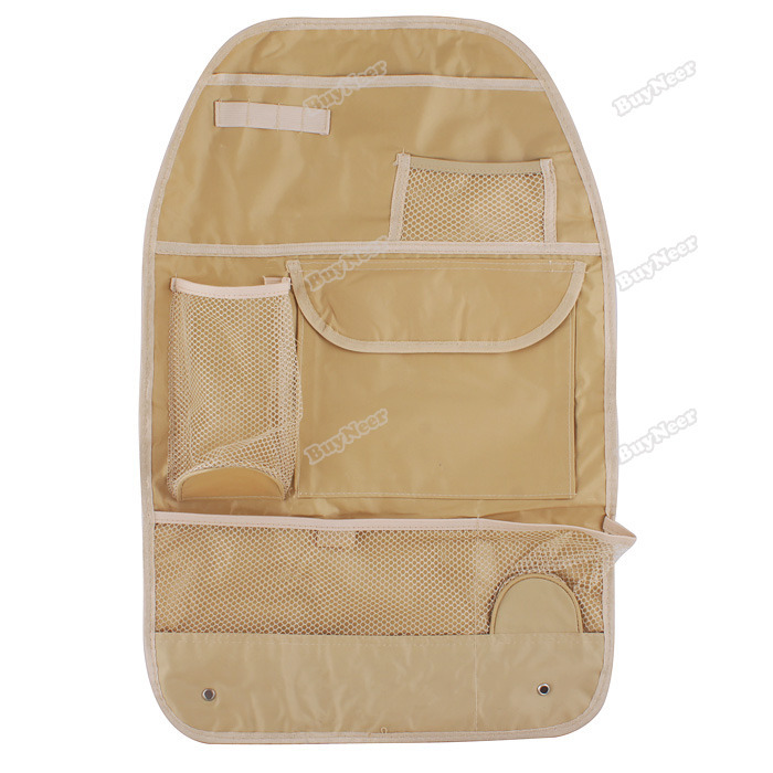 tomtent Car Auto Back Seat Hanging Organizer Collector Storage Multi-Pocket Hold Bag New Hot(China (Mainland))