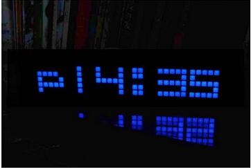 free shipping, home decoration fashion led wall clock, the latest version of the mirror alarm desktop clocks(China (Mainland))