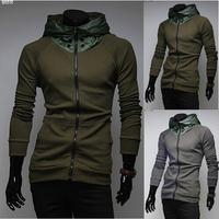 hot sale 2014 new styles Men's Autumn and winter cardigan Korean men's Hoodie Jacket / male hoodies