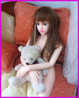 Solid Silicone Mini Sex Doll Real Life Sex Dolls Full Silicone 130 CM Japanese Real Dolls With Skeleton Free Shipping M-382